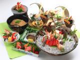 和のおもてなしと極うどん たくあん_岐阜のおもてなし空間 接待・会食特集用写真1