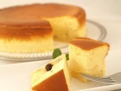 DOLCI cafe_ベイクド・チーズケーキ