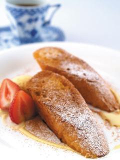 DOLCI cafe_カリ&ふわっ「フレンチトースト」