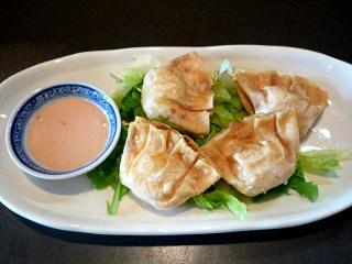 中華料理 にいはお_ぷりぷりえび揚げぎょうざ…570円