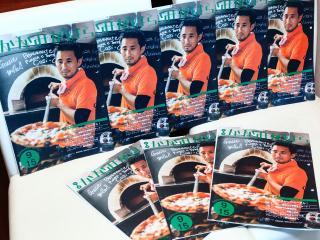 Pizzeria e trattoria Cosi -Cosi_広報の表紙を飾る