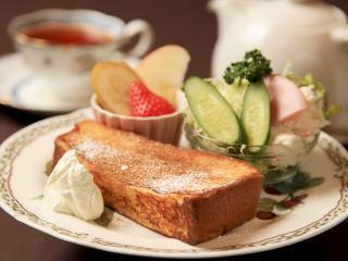 茶洋館マサラ_選べるモーニング…ドリンク代のみ