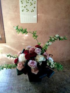 プランタン_生花のフラワーアレンジメント