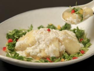 Natural Food Dining ZEN(膳)_老化防止効果も!揚げ豆腐美肌卵白ソース
