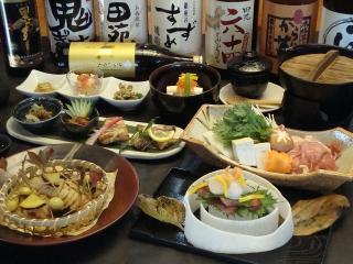創作食彩 まくや_懐石コース料理(90分飲み放題付) …3,500円~