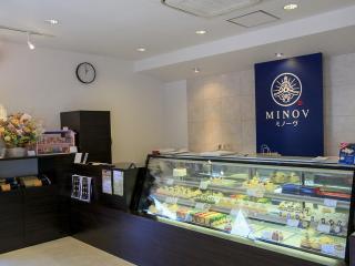 米・糀 洋菓子 MINOV_日本の伝統を美味しく、新しく伝える店内