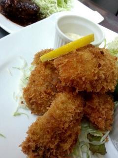 Kitchen GRATO_大粒かきフライ…1,100円