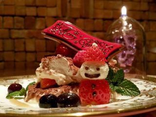 AGLIO E OLIO_ラグジュアリーなクリスマスディナー用写真1