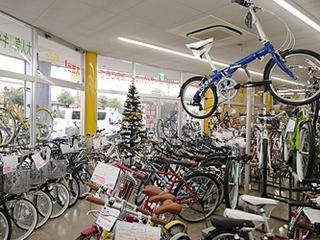 自転車のビック 岐阜店_店内