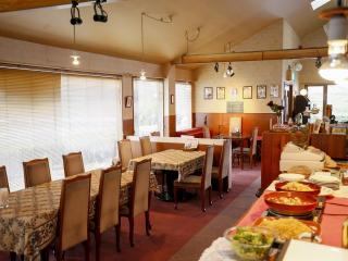グリーンレストラン キャラバンサライ_天窓からも光が差し込み開放的な店内