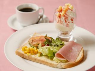 グリーンレストラン キャラバンサライ_選べるセットのモーニングサービス
