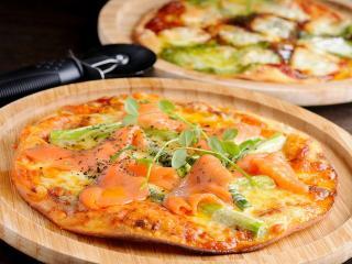 低糖専門キッチン・源喜_大豆粉のピザ