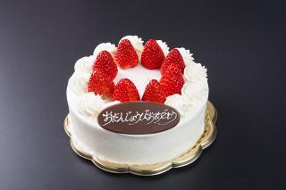 米・糀 洋菓子 MINOV_苺のショートケーキ(A)15㎝…2,600円