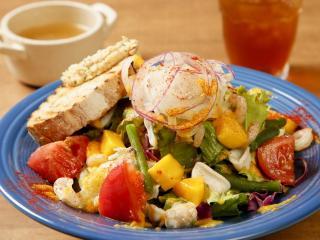 BHM'S Cafe_Salada Lunch サラダランチ…1,188円