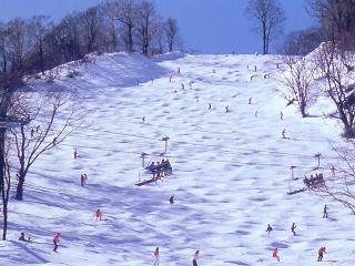 めいほうスキー場の写真