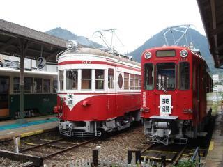 旧名鉄美濃駅の写真