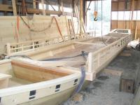 岐阜市鵜飼観覧船造船所の写真