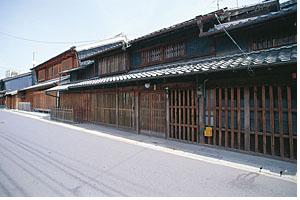 商家づくりの家の写真