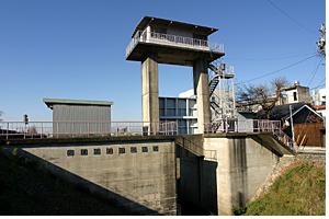 逆水樋門の写真