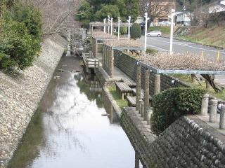 コミュニティ水路の写真