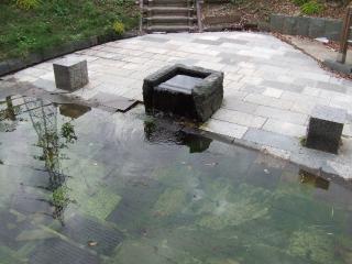 三城公園自噴水の写真