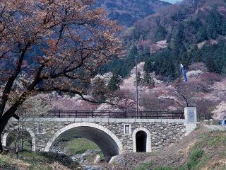 霞間ヶ渓公園の写真