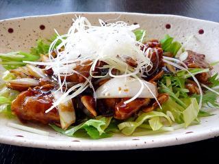 中華料理 にいはお_黒酢酢豚…980円