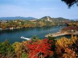 県立自然公園恵那峡の写真