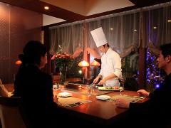 鉄板フレンチ キャトル・セゾン MORI_岐阜のおもてなし空間 接待・会食特集_写真