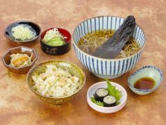 京にしんせっと…1,400円|京にしんそば(うどん) 一品 一菜 かやくご飯 香の物