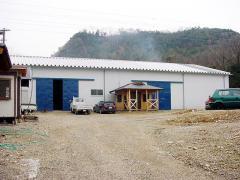 岐阜県各務原市にある自社プレカット工場。
