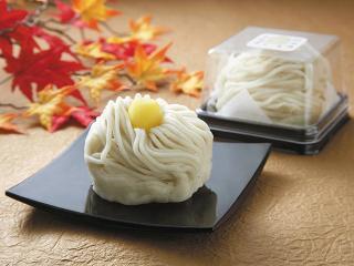モンブラン大福…248円|柔らかい栗を栗餡で包み、多めのホイップクリームと柔らかいおもちで包み上から栗が...