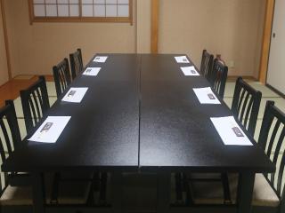 2階は個室が4つ充実スペース慶事や法事にも最適|2階には4つの個室があり、椅子席のご用意も。全て繋げて50~...