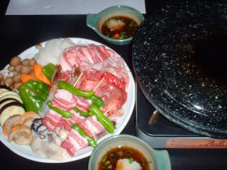 味晴れ_石焼料理