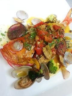 Kitchen GRATO_新鮮な魚料理