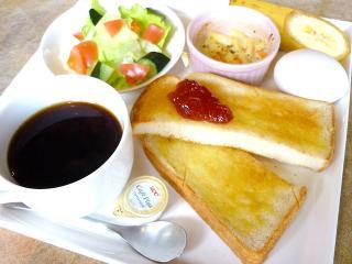 cafe Noah_トーストパンは3種の味で。