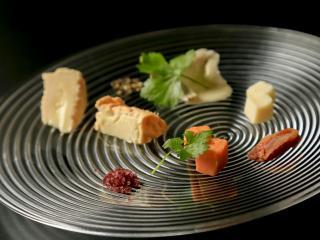 Du bon temps_フランス産チーズの盛り合わせ