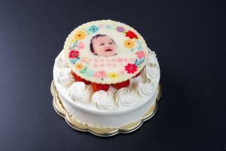 米・糀 洋菓子 MINOV_フォトプリントケーキ