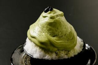 抹茶のエスプーマ仕立て|宇治 丸久小山園のお抹茶を西洋の料理技法であるエスプーマにて仕立てるという、...