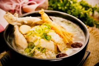 韓国料理 錦山_サムゲタン…2,160円