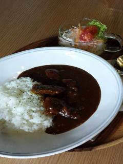 Di Coltura 本店_飛騨牛カレーランチ…850円