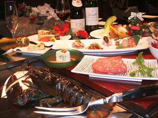 鉄板厨房 石やま_ラグジュアリーなクリスマスディナー用写真1