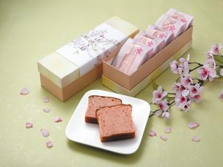 兎月園_和ケーキ桜…1個160円~