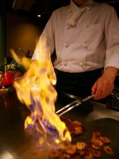 鉄板厨房 石やま_岐阜のおもてなし空間 接待・会食特集用写真1