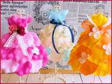 香りの花びらでドレスをデザイン★サマーレ