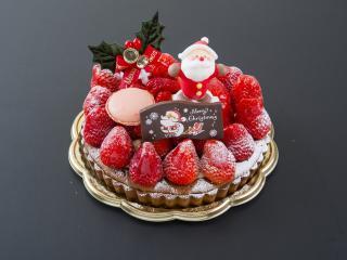 米・糀 洋菓子 MINOV_たっぷり苺の贅沢タルト