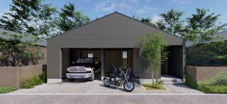 WARE HOUSE|趣味を楽しむ倉庫のようなデザイン。