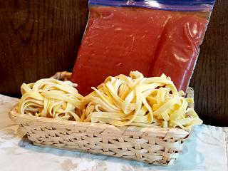 トマトソース&生パスタセット