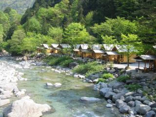 森林キャンプ場の写真