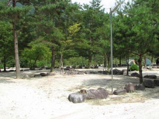 塔の岩オートキャンプ場の写真